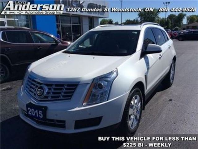 2015 CADILLAC SRX Luxury - Sunroof -  Leather Seats -  Bluetooth in Woodstock, Ontario