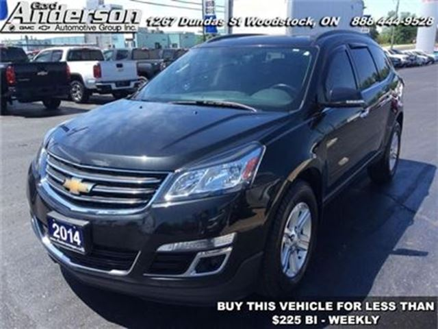 2014 CHEVROLET Traverse 2LT - Bluetooth -  Heated Seats in Woodstock, Ontario