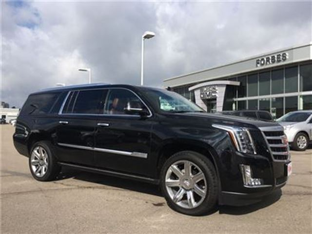 2016 Cadillac Escalade ESV Premium Collection in Waterloo, Ontario