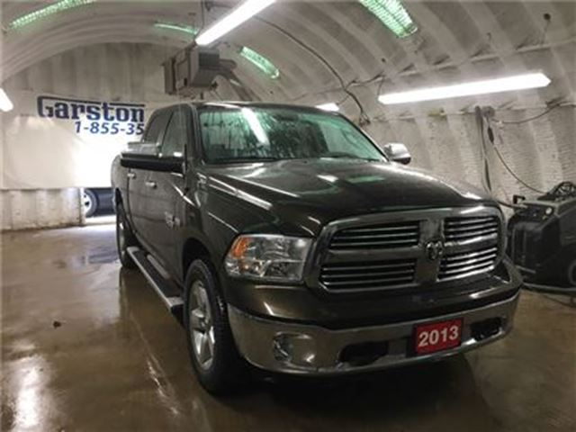 2013 dodge ram 1500 crew cab big horn 4wd hemi u connect phone heated cambridge ontario car. Black Bedroom Furniture Sets. Home Design Ideas