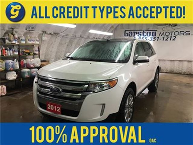 2012 Ford Edge LIMITED*AWD*NAVIGATION*LEATHER*POWER SUNROOF*REVER in Cambridge, Ontario