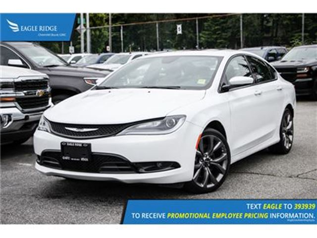 2016 CHRYSLER 200 S w/ Nav, Leather & Sunroof in Coquitlam, British Columbia