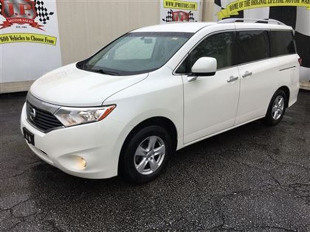 2011 Nissan Quest SV, Third Row Seating, Only 60,000km in Burlington, Ontario