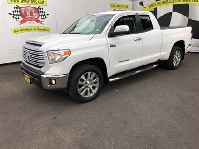 2015 Toyota Tundra Limited, Crew Cab, Navigation, 4x4, Only 12,000km in Burlington, Ontario