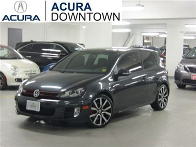 2013 VOLKSWAGEN GOLF GTI Leather/Low KMs/No Accident/Sunroof in Toronto, Ontario