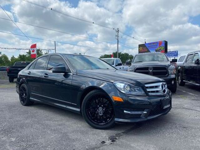 2013 MERCEDES-BENZ C-CLASS C 350 4MATIC   LEATHER   NAV   FULLY LOADED in London, Ontario