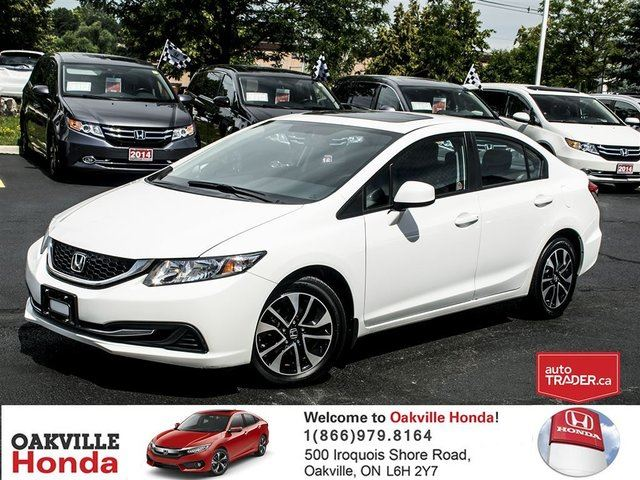 2013 HONDA Civic Sedan EX 5AT in Oakville, Ontario