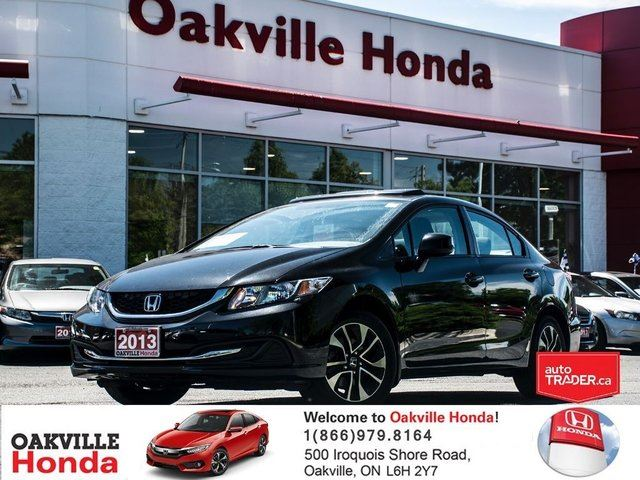 2013 HONDA Civic Sedan EX 5MT in Oakville, Ontario