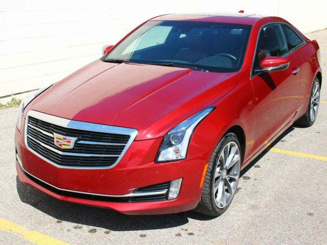 2015 CADILLAC ATS LOADED COUPE LOW KM FINANCE AVAILABLE in Edmonton, Alberta