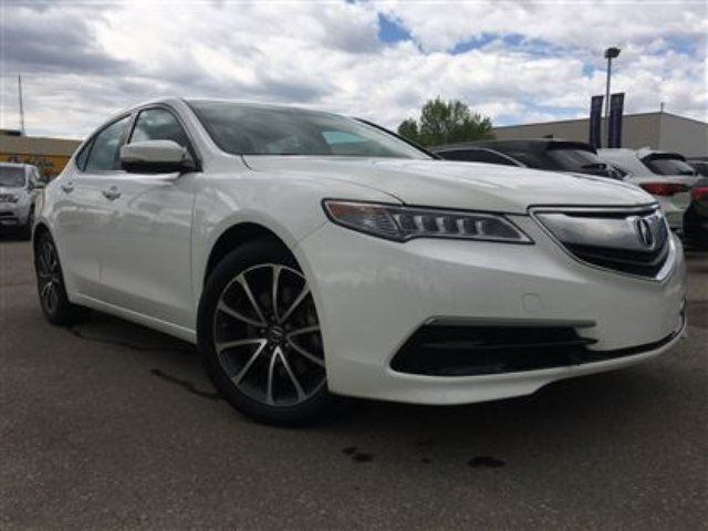 2015 Acura TLX Tech AWD Navigation Remote Start Sunroof in Red Deer, Alberta