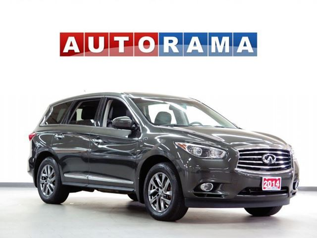 2014 Infiniti QX60 NAVIGATION BACKUP CAM LEATHER SUNROOF 7 PASS 4WD in North York, Ontario
