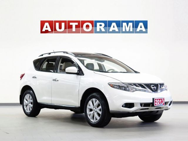 2013 Nissan Murano SL BACKUP CAM LEATHER PAN SUNROOF  4WD in North York, Ontario