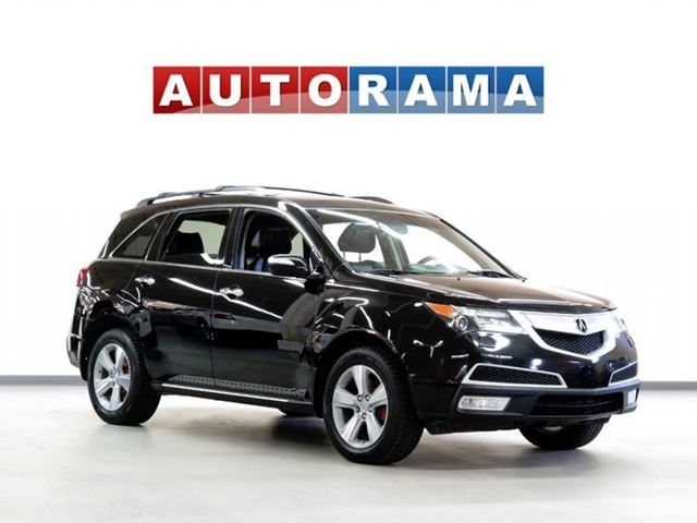2013 ACURA MDX TECH PKG NAVIGATION LEATHER SUNROOF in North York, Ontario