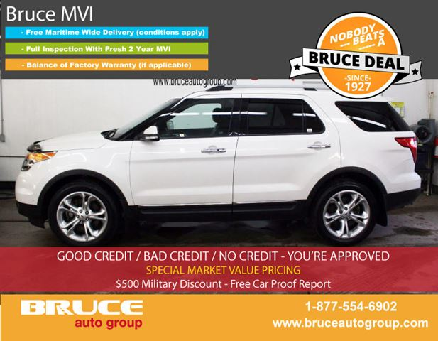 2013 Ford Explorer LIMITED 3.5L 6 CYL AUTOMATIC AWD in Middleton, Nova Scotia