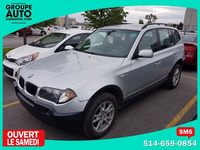 2006 BMW X3 2.5i TOIT PANO AWD (4X4) MAGS in Longueuil, Quebec