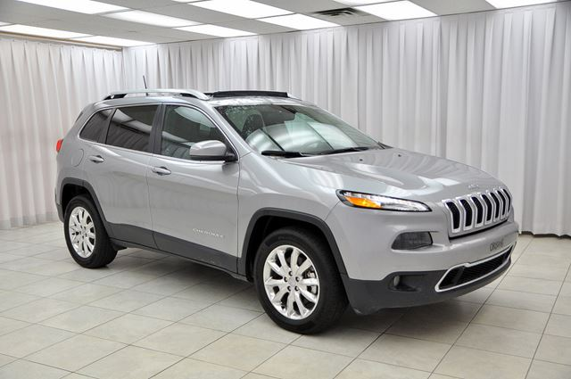 2016 Jeep Cherokee LIMITED 4x4 SUV w/ BLUETOOTH, HEATED LEATHER &  in Dartmouth, Nova Scotia