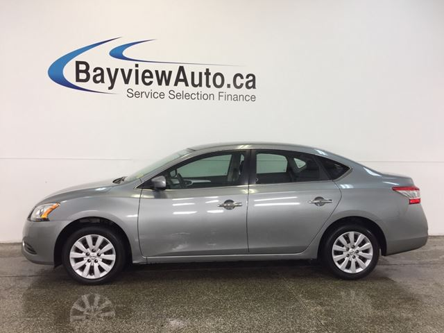 2014 Nissan Sentra S- AUTO! A/C! PURE DRIVE! CRUISE! LOW KM! in Belleville, Ontario