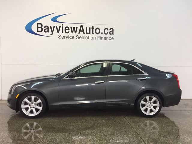 2014 CADILLAC ATS - AWD! TURBO! LEATHER! REV CAM! BOSE! in Belleville, Ontario