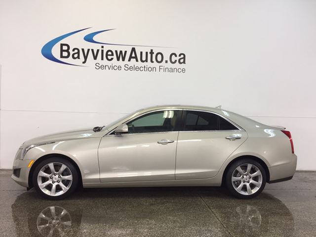 2014 CADILLAC ATS - TINT! SUNROOF! LEATHER! REV CAM! BOSE! in Belleville, Ontario