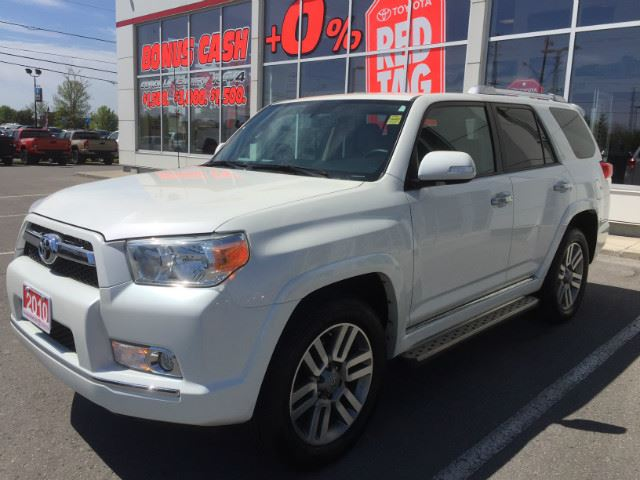 2010 Toyota 4Runner Limited LIMITED-ONE OWNER+SERVICED HERE! in Cobourg, Ontario