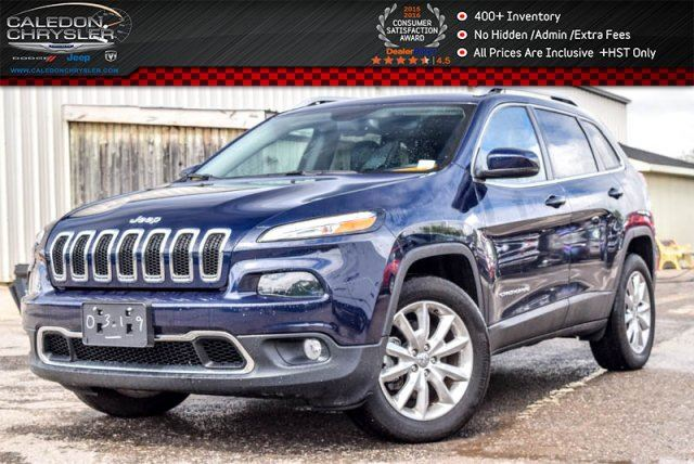 2016 Jeep Cherokee Limited in Bolton, Ontario