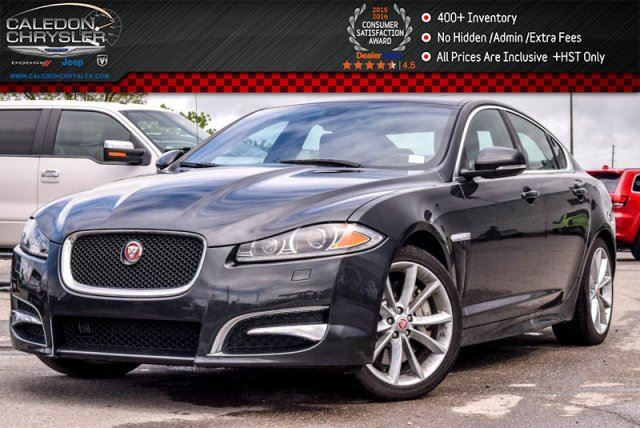 2014 JAGUAR XF V6 AWD Navi Sunroof Backup Cam Bluetooth Leather 19Alloy Rims in Bolton, Ontario
