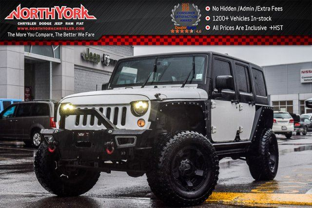 2015 Jeep Wrangler Unlimited Sahara in Thornhill, Ontario