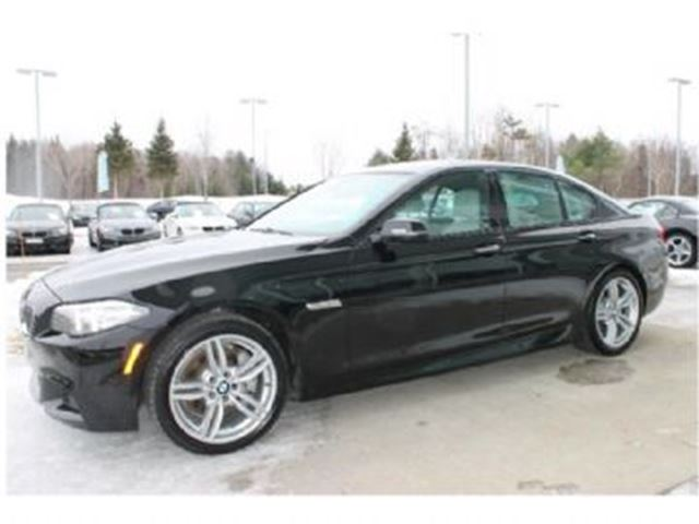 2015 BMW 5 Series 535i M Package 5YR/200,000KM Ext. War. & Wear Protection in Mississauga, Ontario