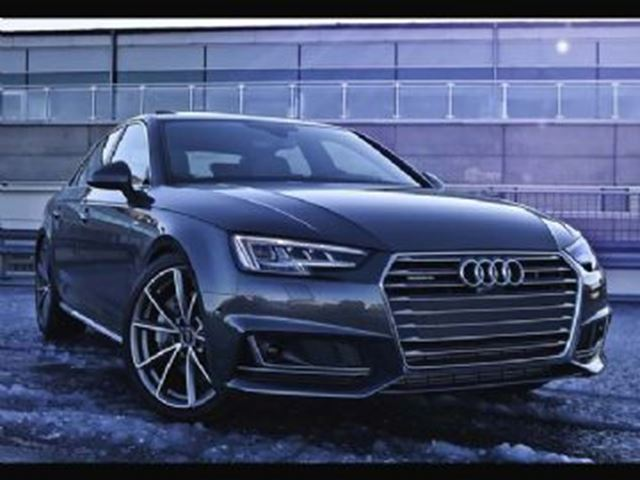 2017 Audi A4 Rare A4 Manual - S-Line Daytona Grey Pearl in Mississauga, Ontario