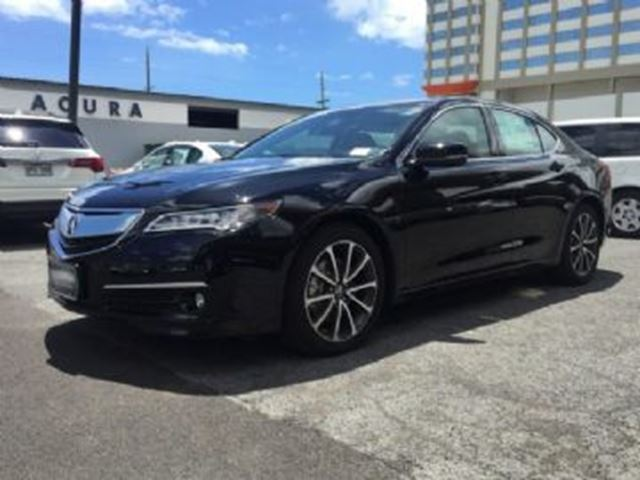 2015 Acura TLX 4Cyl Tech  + Protection Fin de Bail in Mississauga, Ontario
