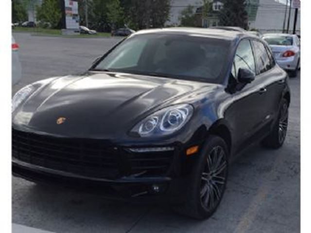 2015 Porsche Macan S, Premium Package Plus, 21 inch 911 Turbo Wheels + + + in Mississauga, Ontario