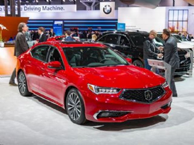 2018 Acura TLX 2018 TECH A-SPEC in Mississauga, Ontario