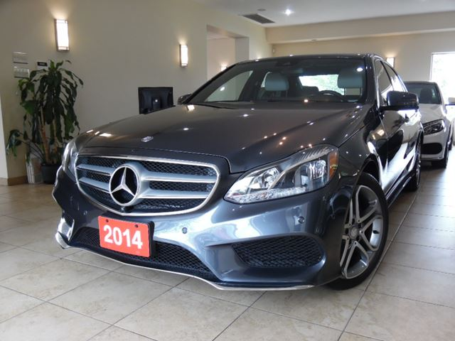 Used 2014 mercedes benz e class e300 4matic navi for Used mercedes benz toronto