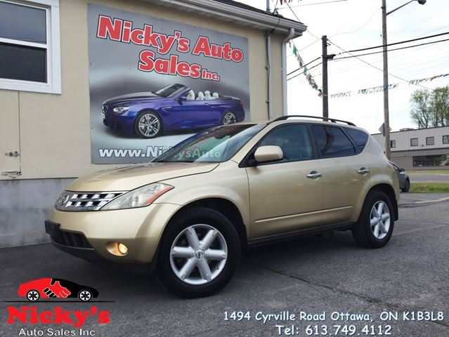 2003 Nissan Murano SE - AWD - LEATHER & SUNROOF - ALLOY WHEELS - LOADED! in Ottawa, Ontario