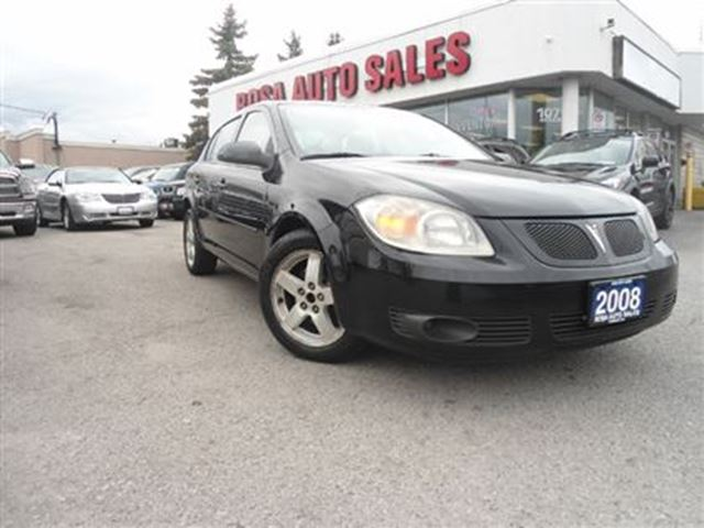 2008 Pontiac G5 4dr Sdn AUTO SUNROOF ALLOY SAFETY ETEST PW PL PM K in Oakville, Ontario