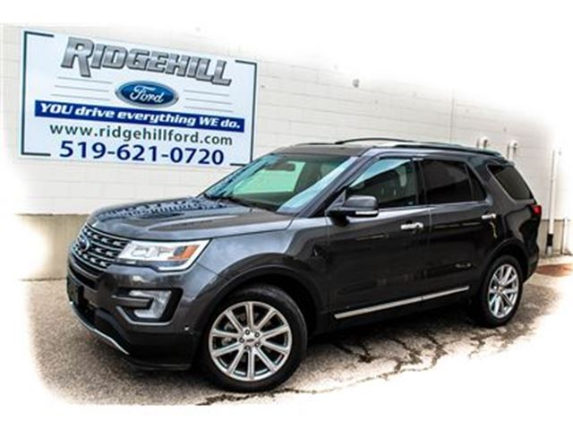 2017 FORD EXPLORER LIMITED  ADAPTIVE CRUISE  MASSAGING SEATS in Cambridge, Ontario