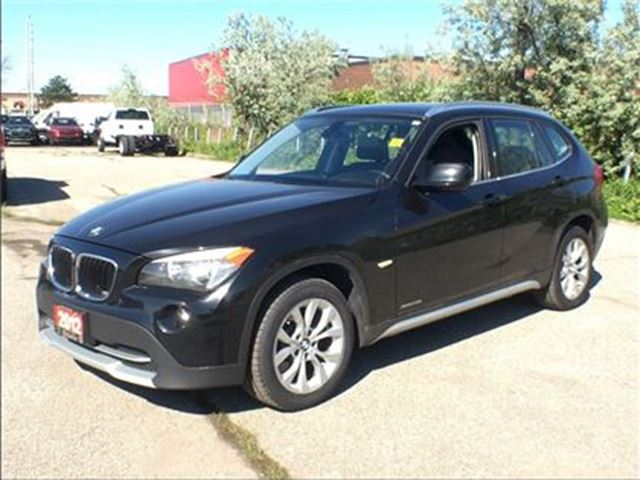 2012 BMW X1 xDrive28i**LEATHER**SUNROOF**NAVIGATION**AWD** in Mississauga, Ontario