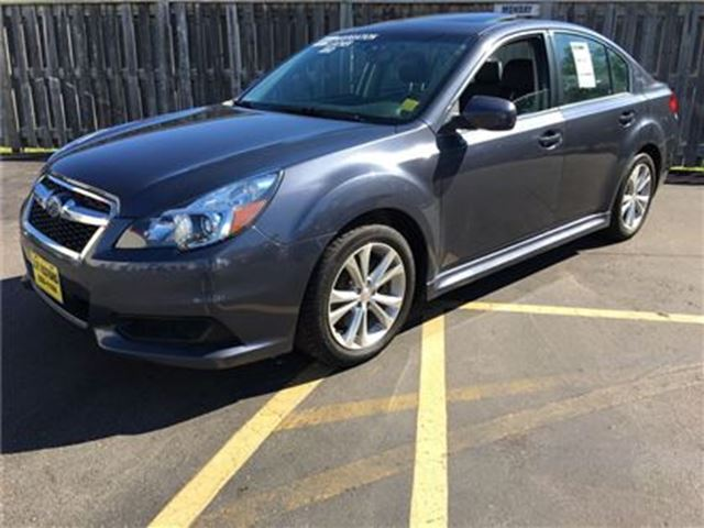 2014 SUBARU LEGACY 3.6R, Leather, Sunroof, AWD, Only 61,000km in Burlington, Ontario