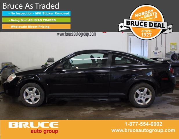 2007 Chevrolet Cobalt LS 2.2L 4 CYL AUTOMATIC FWD 2D COUPE in Middleton, Nova Scotia