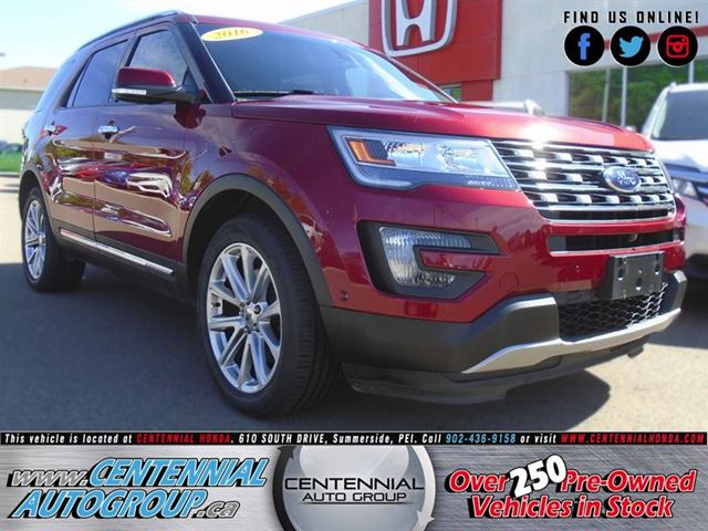 2016 Ford Explorer Limited in Summerside, Prince Edward Island
