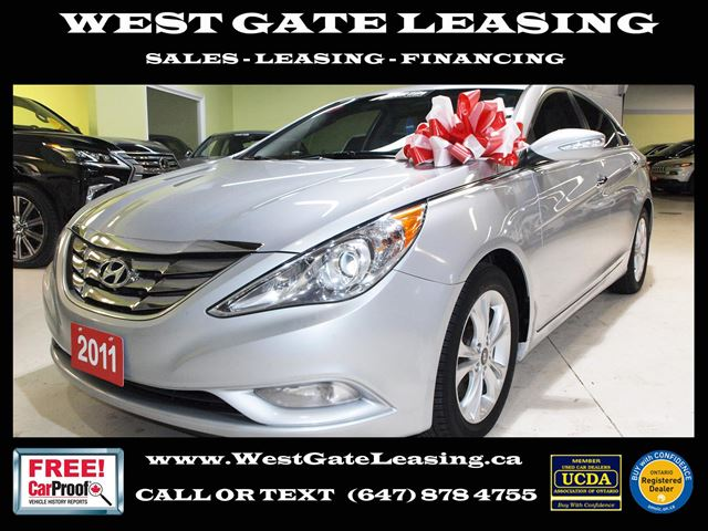 2011 Hyundai Sonata LIMITED SE  NAVIGATION  LEATHER  in Vaughan, Ontario
