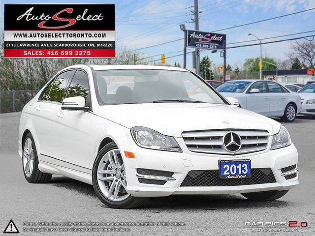 2013 Mercedes-Benz C-Class 4Matic C300 AWD ONLY 72K! **NAVIGATION PKG** CLN CARPROOF in Scarborough, Ontario