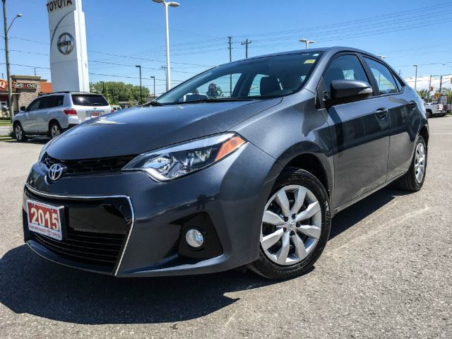 2015 Toyota Corolla   SPORT-HEATED SEATS+BACK UP CAM! in Cobourg, Ontario