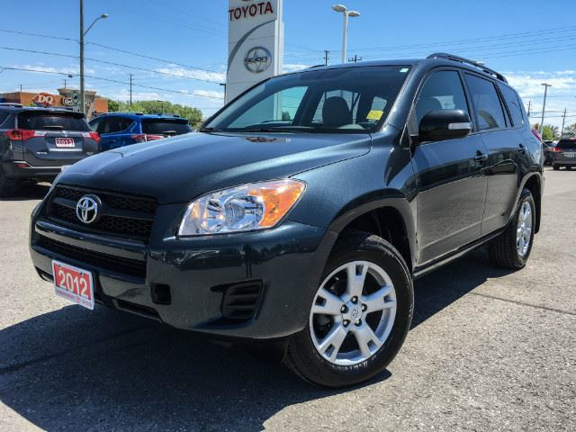 2012 Toyota RAV4   4WD-ONE OWNER-SUNROOF! in Cobourg, Ontario