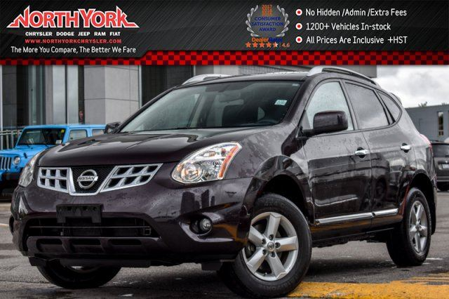 2013 Nissan Rogue S AWD Sunroof AC Power Opts. Clean CarProof 17Alloys in Thornhill, Ontario