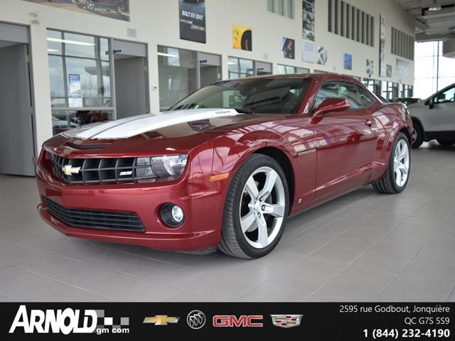 used 2010 chevrolet camaro 8 cy 2ss jonquiere. Black Bedroom Furniture Sets. Home Design Ideas