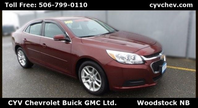 2015 Chevrolet Malibu LT in Woodstock, New Brunswick