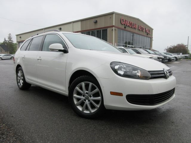 2014 Volkswagen Golf WAGON! HTD. SEATS, ALLOYS, 76K! in Stittsville, Ontario