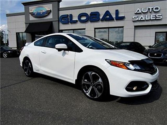 2014 Honda Civic Si Coupe 6-Speed MT LOW KM. in Ottawa, Ontario
