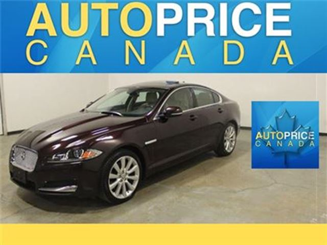 2013 Jaguar XF 3.0L AWD NAVIGATION MOONROOF in Mississauga, Ontario